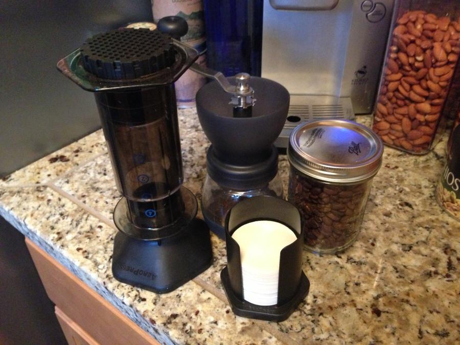 AeroPress Coffe Maker Review ZipRage