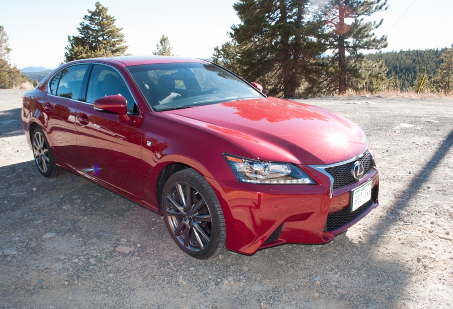 2013 Lexus GS350 F-Sport Review Behind the Wheel ZipRage-3