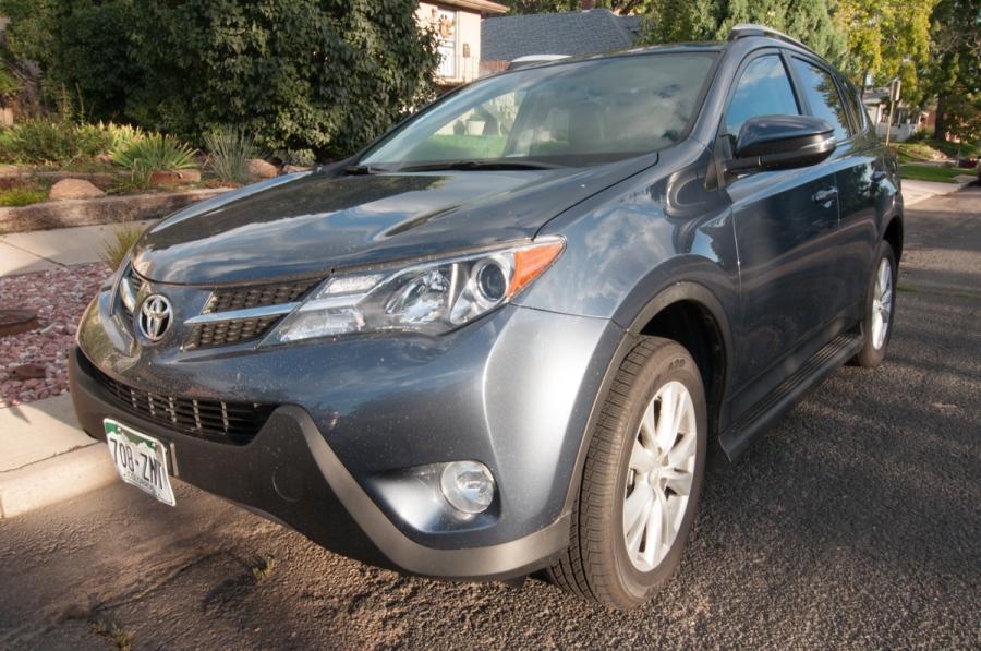2013 Toyota RAV4 Limited Review Behind the Wheel ZipRage-2