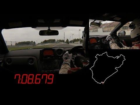 Video thumbnail for youtube video Nissan GT-R Nismo's 7:08 Nürburgring Lap « ZipRage
