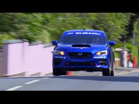 Video thumbnail for youtube video Finally, Video of Subaru Breaking The Isle Of Man Production Car Record with the 2015 WRX STI - ZipRage