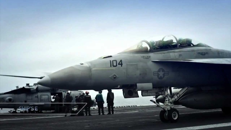 Video thumbnail for youtube video Stunning F-18 Carrier Ops Footage — ZipRage
